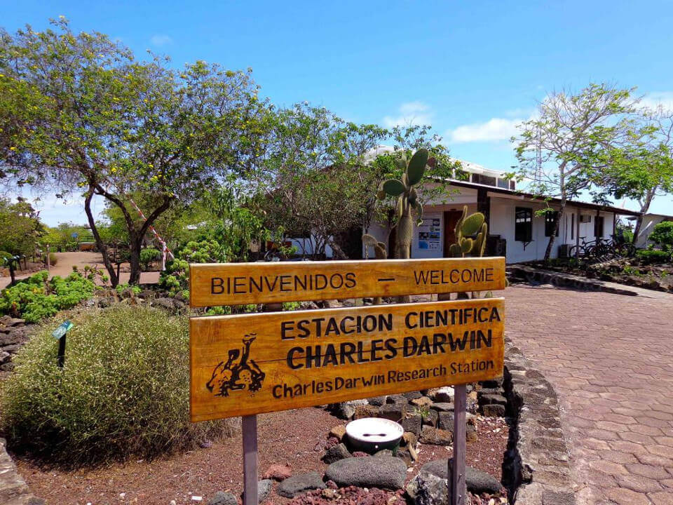 Charles Darwin Research Station in Galapagos islands