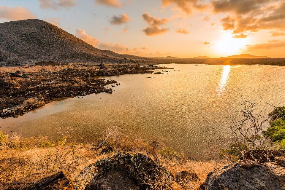 Floreana island in the Galapagos islands