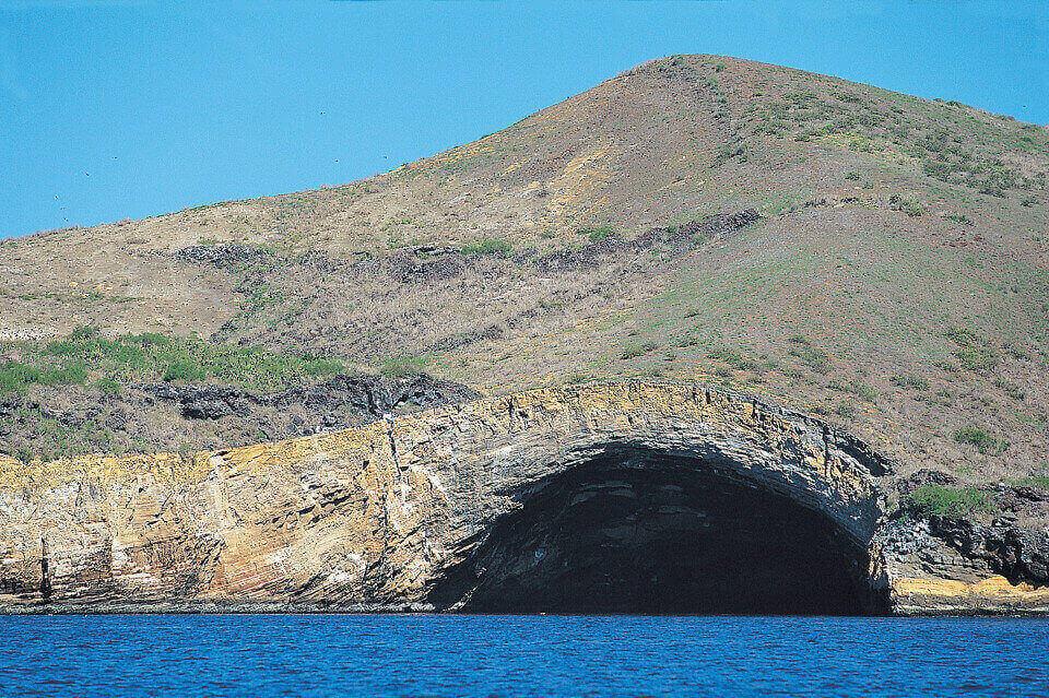 Punta Vicente Roca at Galapagos islands