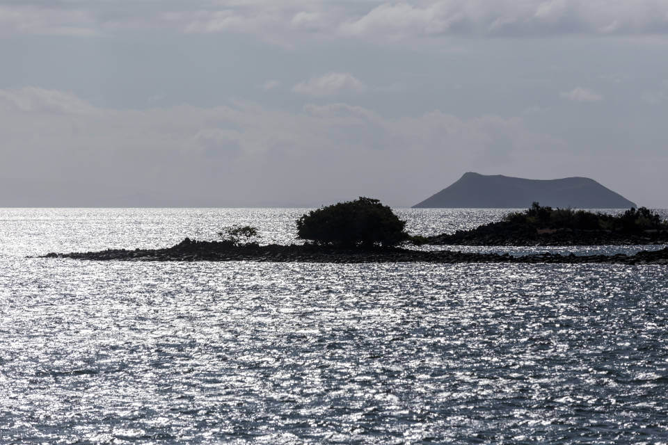 Galapagos islands landscape