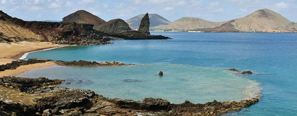 Galapagos tours itineraries: Bartolome Island