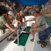 glass bottom boat yacht isabela ii
