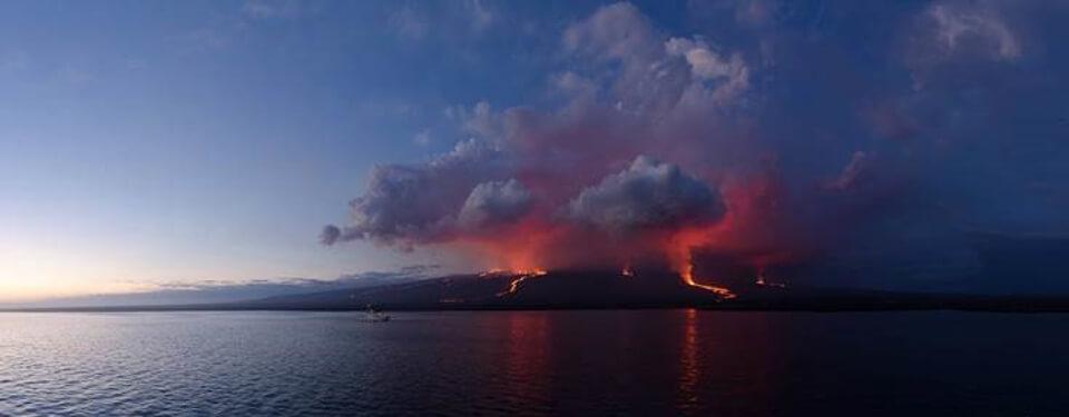 sierra negra volcanic eruption update (July 2018)