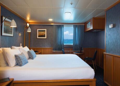 Owners cabin - Yacht Isabela II