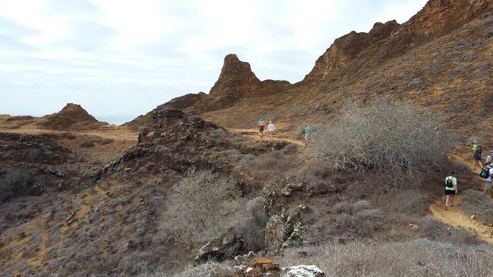Cerro Brujo, Galapagos islands