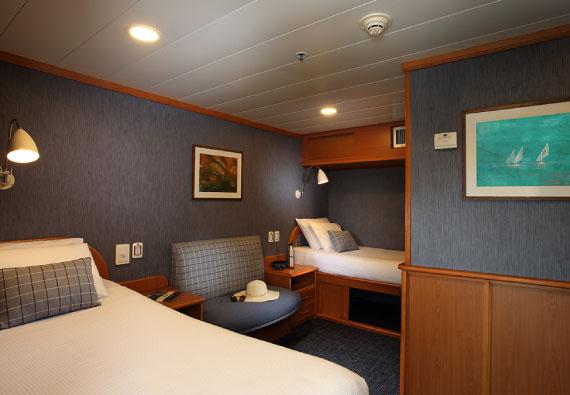 Accomodations Yacht Isabela