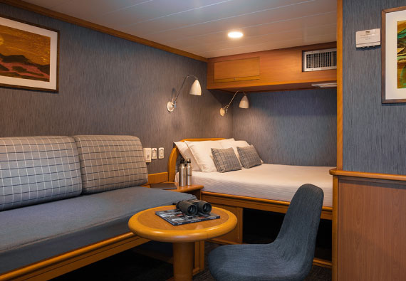 Rooms at Yacht Isabela