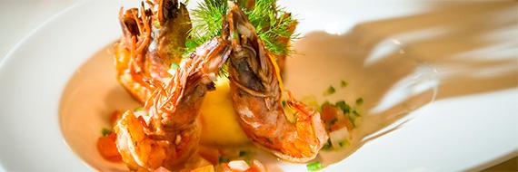 Yacht Isabela's food