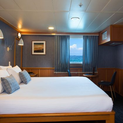 Yacht Isabela's cabins: Master cabin