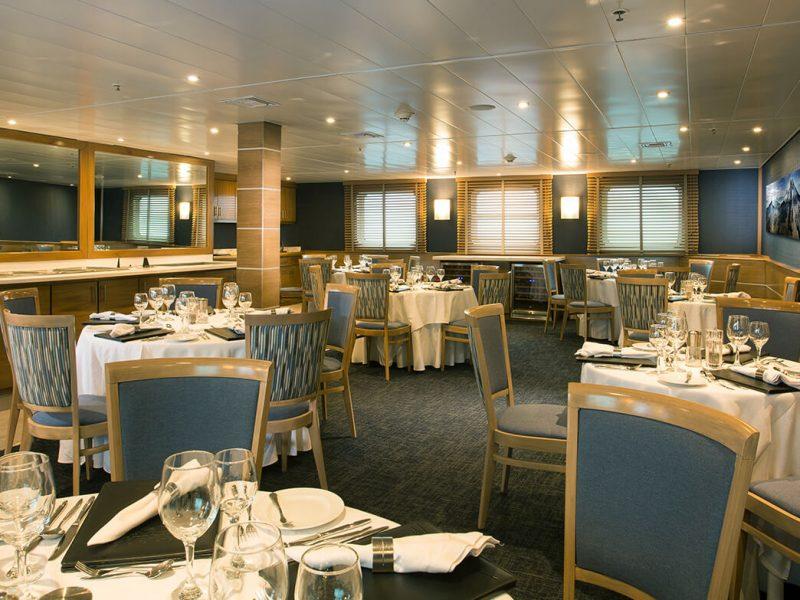 Yacht Isabela features: restaurant