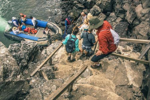 Prince Phillip's Steps at Genovesa Island in Galapagos