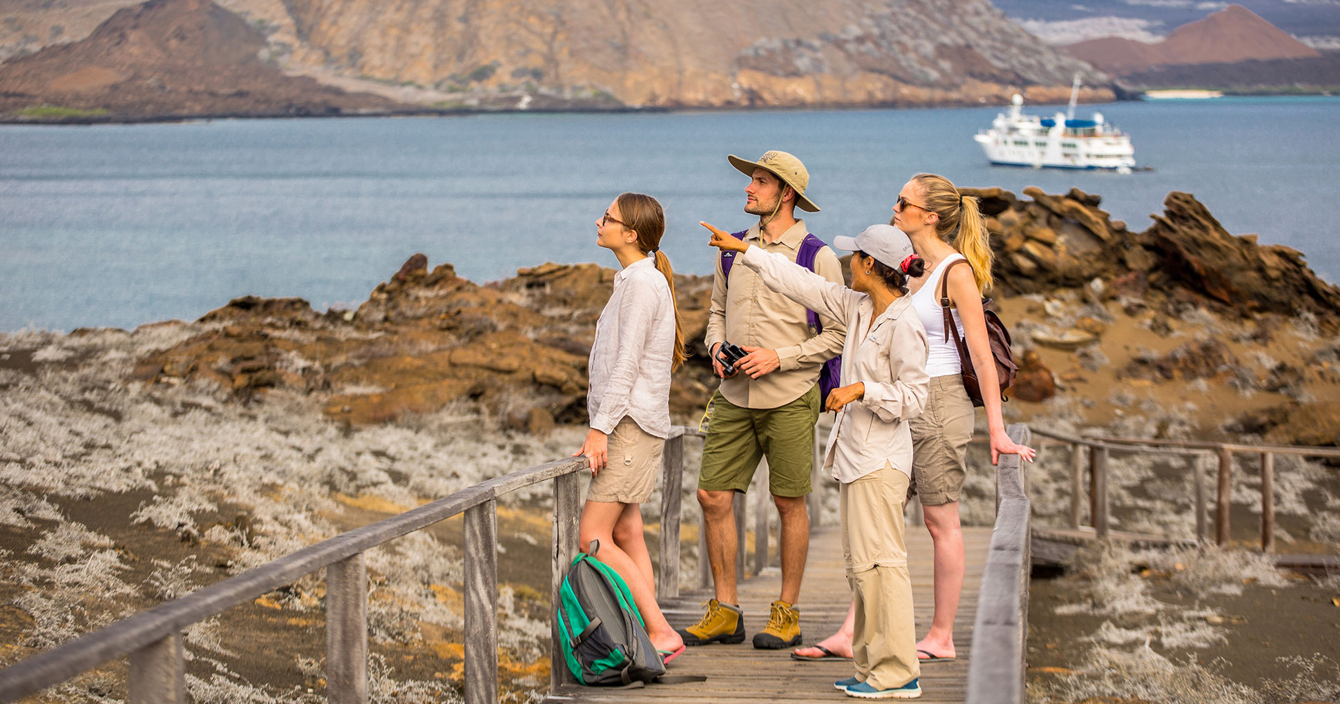 Explorations on the Galapagos Islands