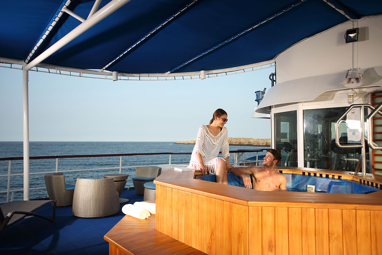 Hot Tub at Yacht Isabela II