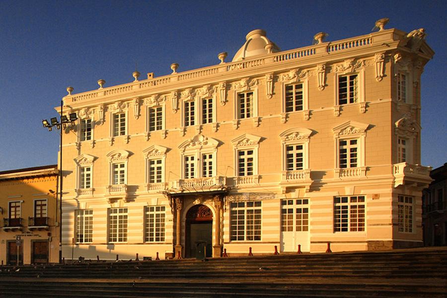 Casa Gangotena in Historic Quito
